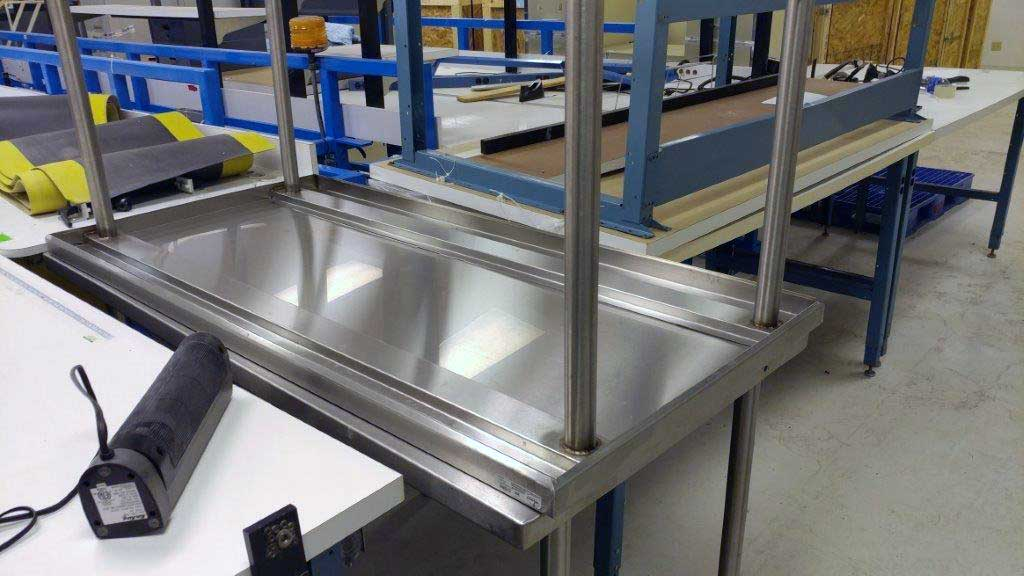 used industrial furniture. Stainless Industrial Tables Used Furniture 4